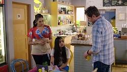 Dipi Rebecchi, Kirsha Rebecchi, Shane Rebecchi in Neighbours Episode 7981