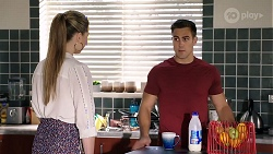 Chloe Brennan, Aaron Brennan in Neighbours Episode 7983