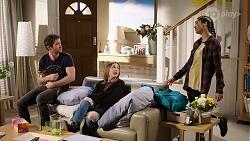 Ned Willis, Piper Willis, Yashvi Rebecchi in Neighbours Episode 7984