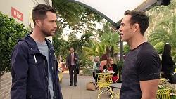 Mark Brennan, Aaron Brennan in Neighbours Episode 7984