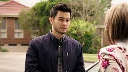 David Tanaka, Alice Wells in Neighbours Episode 7984