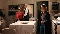 Bea Nilsson, Ned Willis, Piper Willis in Neighbours Episode 7986