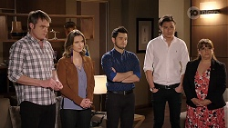 Gary Canning, Amy Williams, David Tanaka, Leo Tanaka, Terese Willis in Neighbours Episode 7987