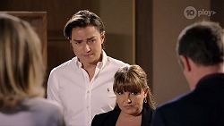 Jane Harris, Leo Tanaka, Terese Willis, Paul Robinson in Neighbours Episode 7987