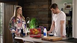 Chloe Brennan, Mark Brennan in Neighbours Episode 7988