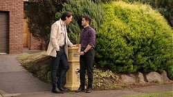 Leo Tanaka, David Tanaka in Neighbours Episode 7988