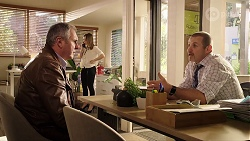 Karl Kennedy, Piper Willis, Toadie Rebecchi in Neighbours Episode 7989