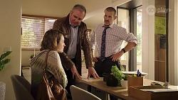 Sonya Mitchell, Karl Kennedy, Toadie Rebecchi in Neighbours Episode 7989