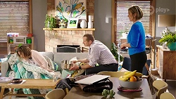 Sonya Mitchell, Toadie Rebecchi, Alice Wells in Neighbours Episode 7989