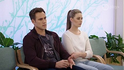 Aaron Brennan, Chloe Brennan in Neighbours Episode 7989