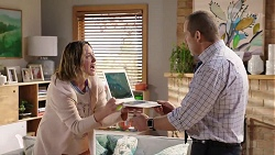 Sonya Mitchell, Toadie Rebecchi in Neighbours Episode 7989