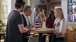 Ned Willis, Paul Robinson, Xanthe Canning in Neighbours Episode 7990