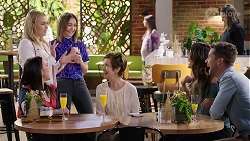 Xanthe Canning, Piper Willis, Susan Kennedy, Elly Conway, Mark Brennan in Neighbours Episode 7991