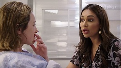 Sonya Mitchell, Dipi Rebecchi in Neighbours Episode 7991