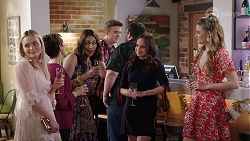Xanthe Canning, Susan Kennedy, Dipi Rebecchi, Bea Nilsson, Chloe Brennan in Neighbours Episode 7993