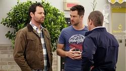 Shane Rebecchi, Mark Brennan, Toadie Rebecchi in Neighbours Episode 7994