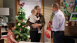 Nell Rebecchi, Hugo Somers, Willow Bliss, Toadie Rebecchi in Neighbours Episode 7994