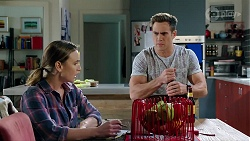 Amy Williams, Aaron Brennan in Neighbours Episode 7996