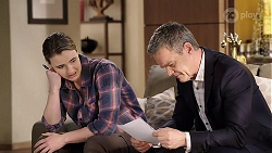 Amy Williams, Paul Robinson in Neighbours Episode 7997