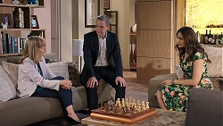 Jane Harris, Paul Robinson, Dipi Rebecchi in Neighbours Episode 7998