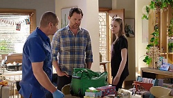 Toadie Rebecchi, Shane Rebecchi, Willow Bliss in Neighbours Episode 7998