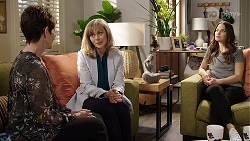 Susan Kennedy, Jane Harris, Elly Conway in Neighbours Episode 7998