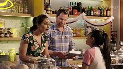 Dipi Rebecchi, Shane Rebecchi, Kirsha Rebecchi in Neighbours Episode 7998