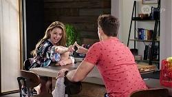 Chloe Brennan, Aaron Brennan in Neighbours Episode 7999