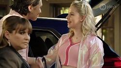 Terese Willis, Leo Tanaka, Delaney Renshaw in Neighbours Episode 8000