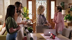 Bea Nilsson, Elly Conway, Liz Conway, Susan Kennedy in Neighbours Episode 8001