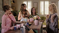 Susan Kennedy, Elly Conway, Bea Nilsson, Liz Conway in Neighbours Episode 8001