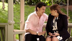 Leo Tanaka, Terese Willis in Neighbours Episode 8001