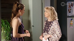 Chloe Brennan, Liz Conway in Neighbours Episode 8001