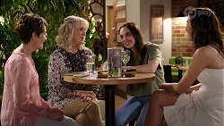 Susan Kennedy, Liz Conway, Bea Nilsson, Elly Conway in Neighbours Episode 8001