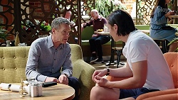 Paul Robinson, Leo Tanaka in Neighbours Episode 8002