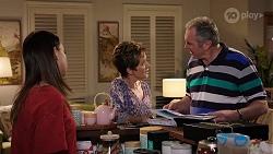 Bea Nilsson, Susan Kennedy, Karl Kennedy in Neighbours Episode 8004