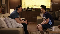 Leo Tanaka, David Tanaka in Neighbours Episode 8004