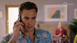 Aaron Brennan, Delaney Renshaw in Neighbours Episode 8004