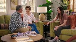 Karl Kennedy, Susan Kennedy, Bea Nilsson in Neighbours Episode 8004