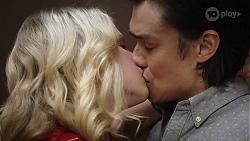 Delaney Renshaw, Leo Tanaka in Neighbours Episode 8004