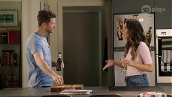 Mark Brennan, Elly Conway in Neighbours Episode 8005
