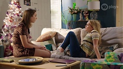 Piper Willis, Xanthe Canning in Neighbours Episode 8005