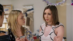 Yashvi Rebecchi, Xanthe Canning, Piper Willis in Neighbours Episode 8006