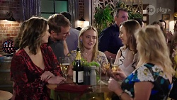 Amy Williams, Gary Canning, Xanthe Canning, Piper Willis, Sheila Canning in Neighbours Episode 8006