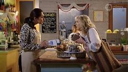 Dipi Rebecchi, Liz Conway in Neighbours Episode 8006