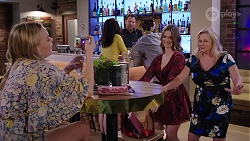 Xanthe Canning, Shane Rebecchi, Amy Williams, Sheila Canning in Neighbours Episode 8007