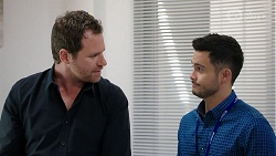 Shane Rebecchi, David Tanaka in Neighbours Episode 8007