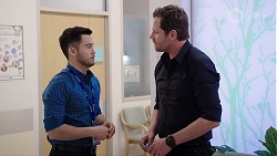 David Tanaka, Shane Rebecchi in Neighbours Episode 8007
