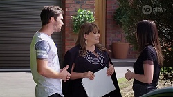 Ned Willis, Terese Willis, Bea Nilsson in Neighbours Episode 8009