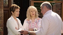 Susan Kennedy, Liz Conway, Karl Kennedy in Neighbours Episode 8010
